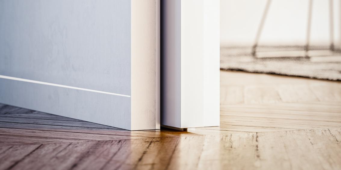 support syntesis pour plinthes sans sur paisseur eclisse eclisse france. Black Bedroom Furniture Sets. Home Design Ideas