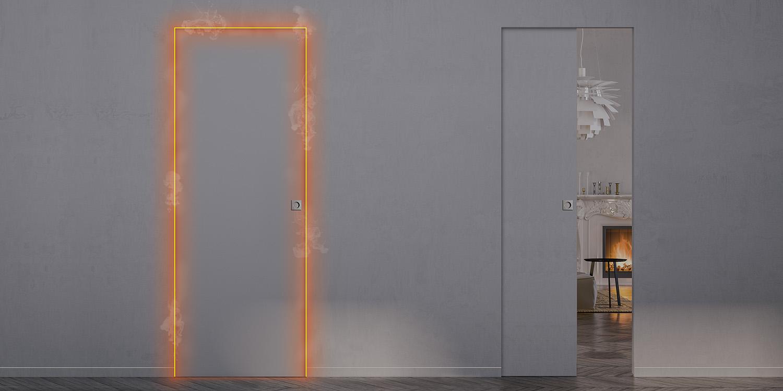 Portes Coulissantes A Galandage Et Portes D Interieur Eclisse France