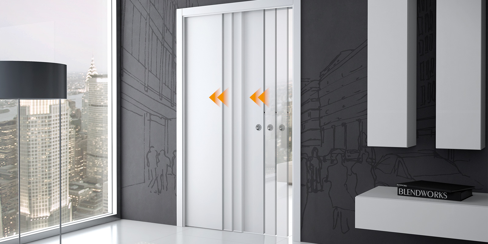 Accessoires Pour Portes Coulissantes | Eclisse   ECLISSE France