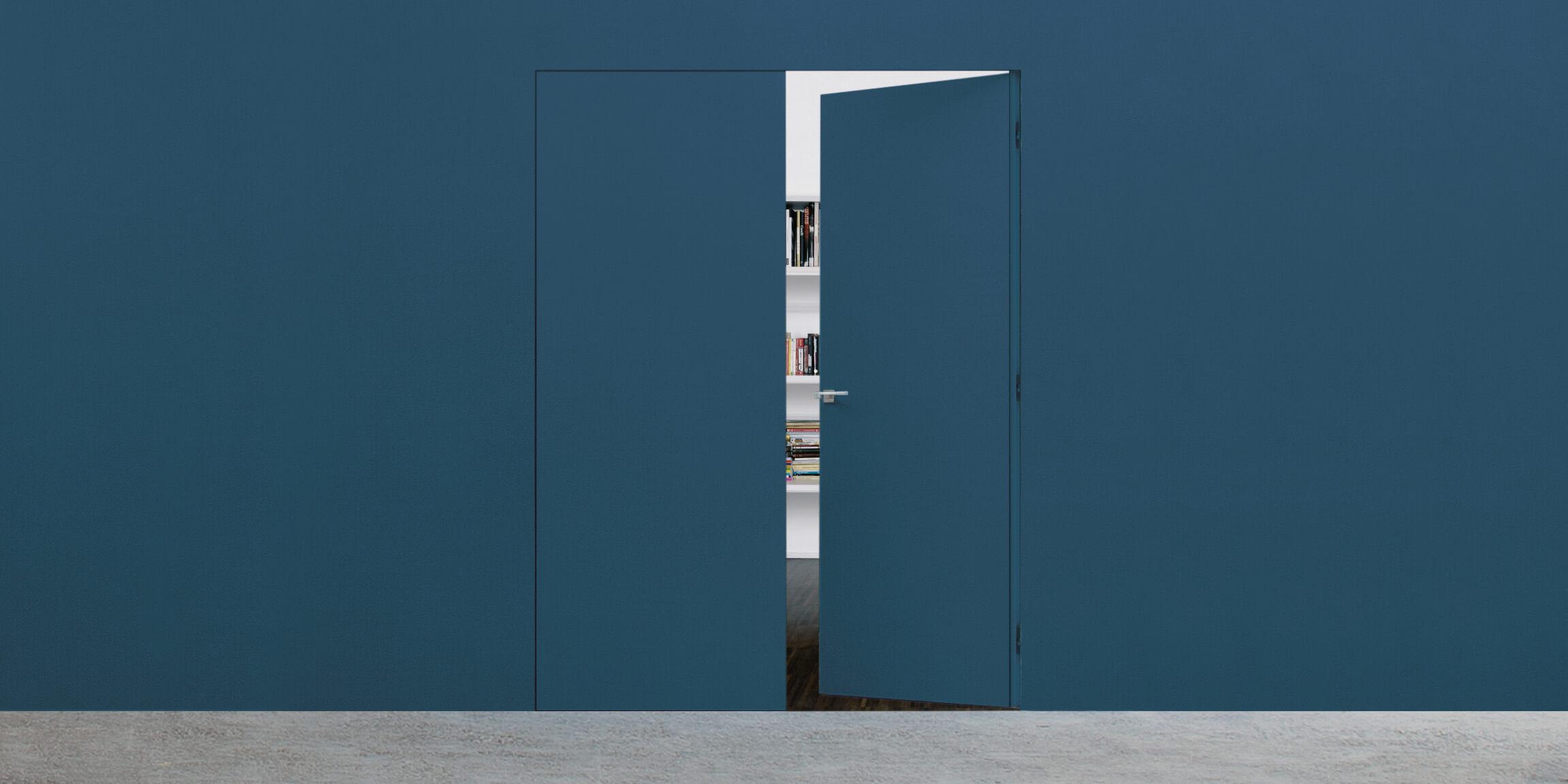 Assistance double porte invisible syntesis battant for Porte invisible