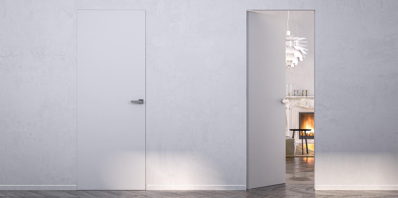 Portes coulissantes galandage et portes d 39 int rieur for Porte invisible